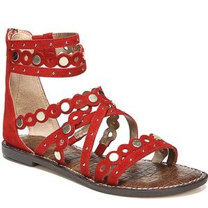 Sam Edelman Gladiator Red Geren